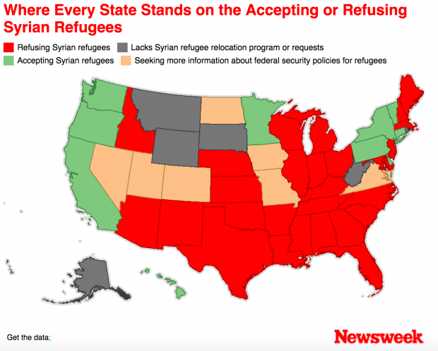 The Syrian Refugee Crisis and the Undoing of the GOP